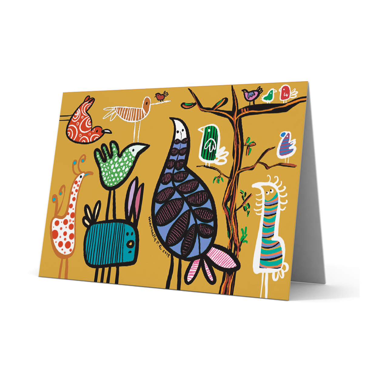 SOS Greeting Card 235