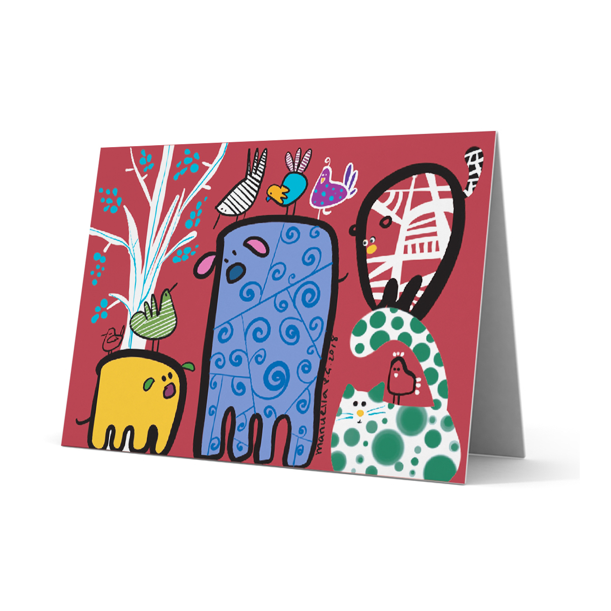SOS Greeting Card 233