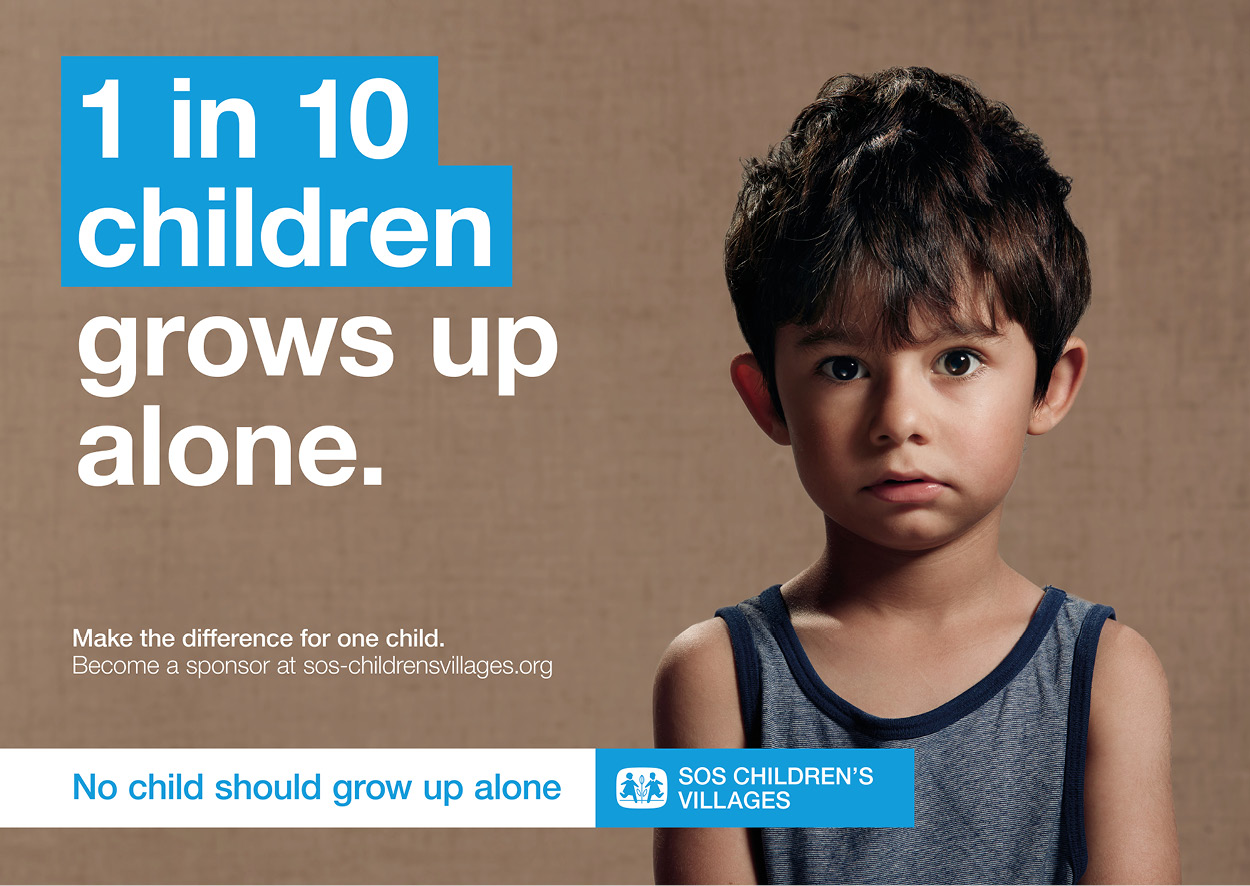 No child should grow up alone 1