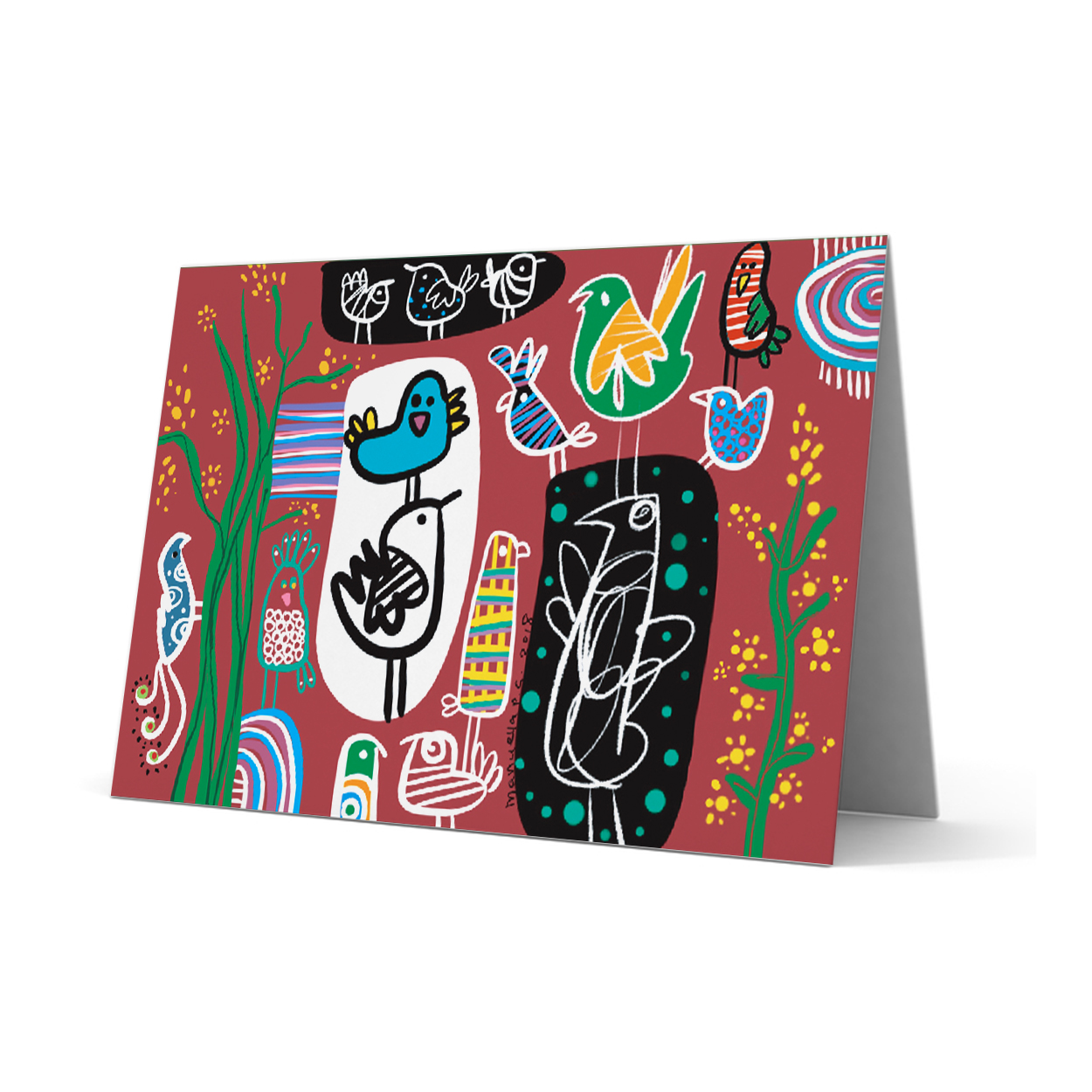 SOS Greeting Card 237
